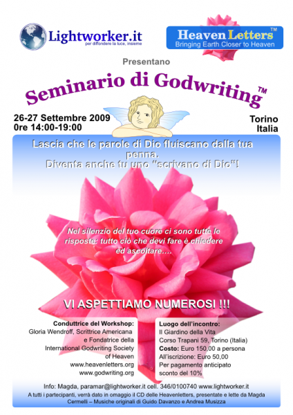 godwriting workshop poster italy