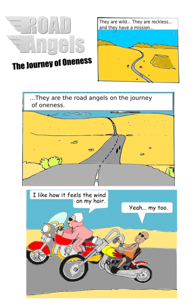 Road Angels comic